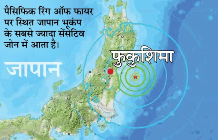 जापान में धरती कांपी:फुकुशिमा में 7.1 तीव्रता का भूकंप; पूरे देश में झटके महसूस किए गए, लेकिन सुनामी का खतरा नहीं  जापान में धरती कांपी:फुकुशिमा में 7.1 तीव्रता का भूकंप; पूरे देश में झटके महसूस किए गए, लेकिन सुनामी का खतरा नहीं