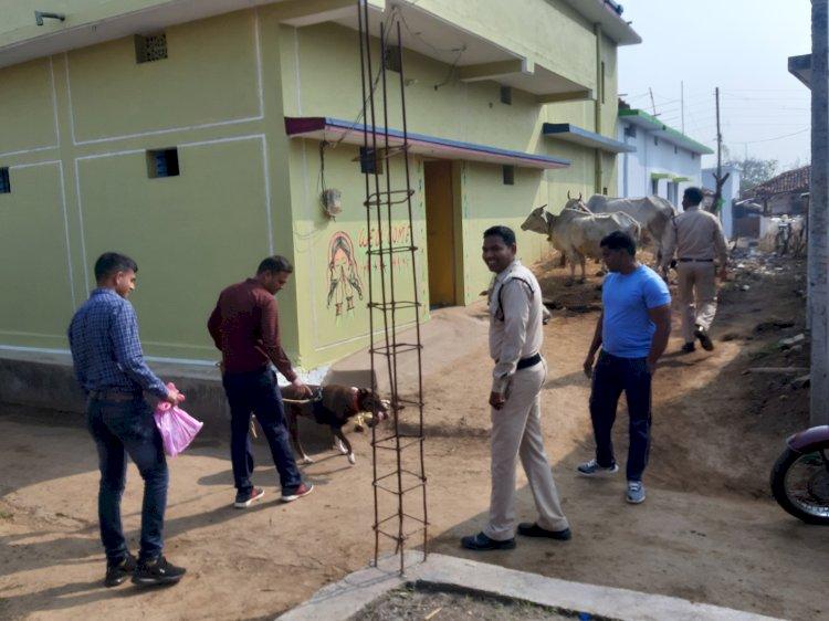 अर्जुन्दा जिला बालोद थाना अर्जुन्दा के अंतर्गत सुने मकान मे हुई चोरी का 24 घण्टे में खुलासा आरोपीयो से चोरी गये सभी समान जप्त