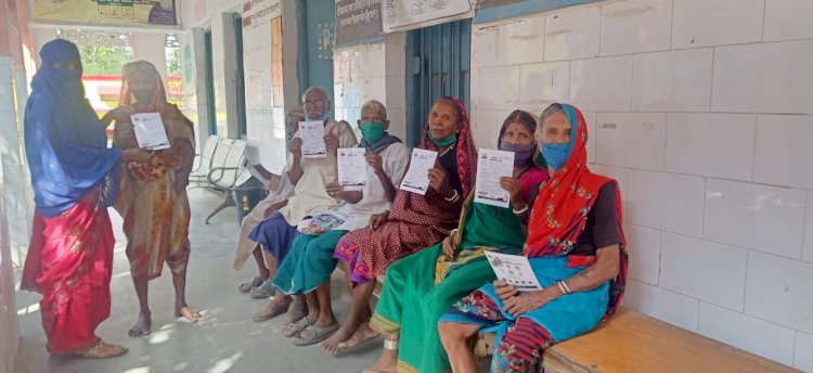 प्रदेश अध्यक्ष आलोक पाण्डे एवं जिलाध्यक्ष योगेंद्र वैष्णव निर्देशन पर ग्रामीणों को लगवाया गया वैक्सीन CGNEWSPLUS-24