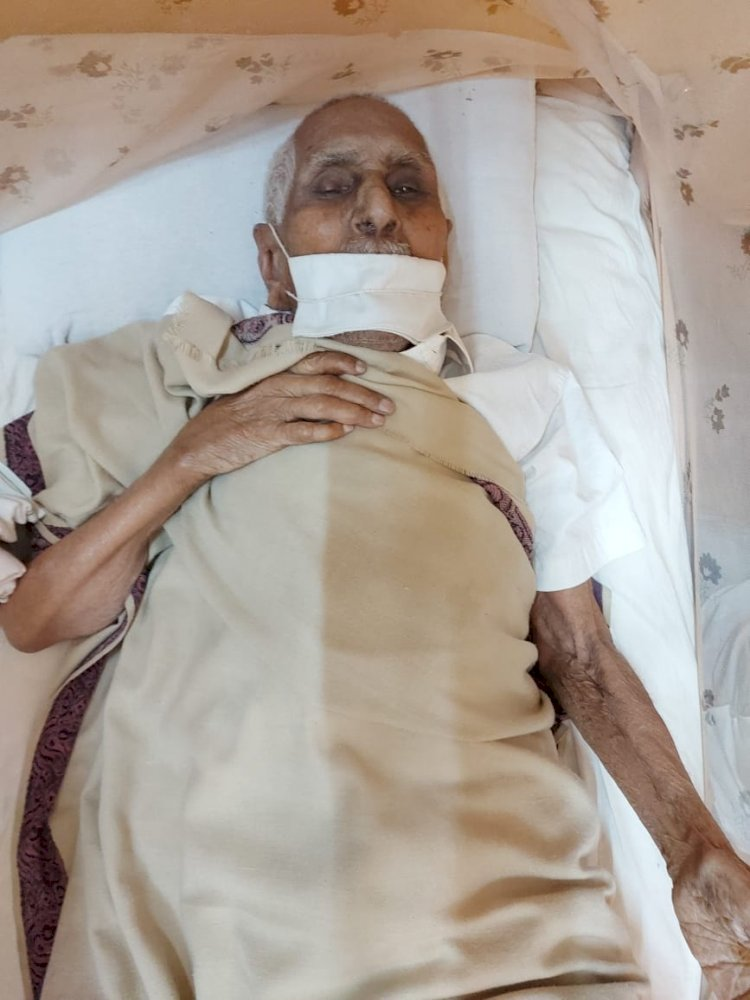 विधायक रेखचन्द जैन के पिता सिरेमल जी जैन ने लिया संथारा पढ़िये पूरी खबर