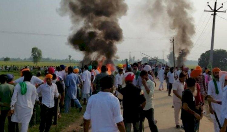 लखीमपुर खीरी हिंसा कुचले गए किसान के परिवार ने अंतिम संस्कार से किया इनकार, ऑटोप्सी रिपोर्ट मांगी