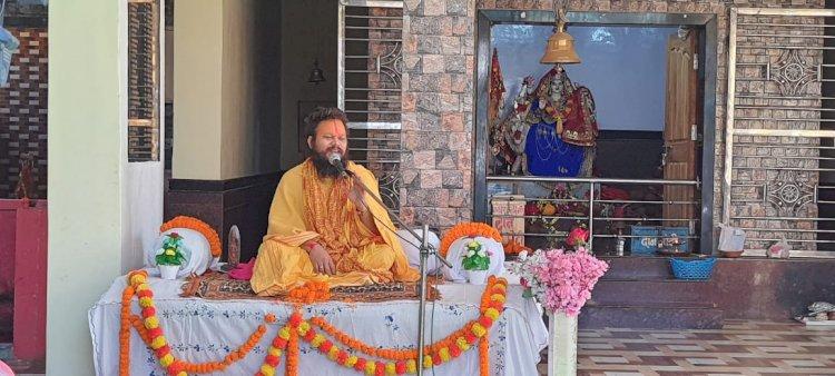 बालकदास बाबा हिंदुत्व की रक्षा के उद्देश्य से क्या दिये उपदेश इस धर्म नगरी में खबर पूरा पढ़कर जाने